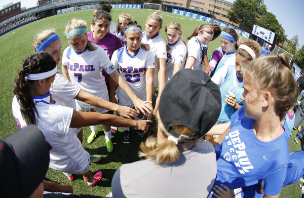DePaul University Girls Soccer College ID Camp