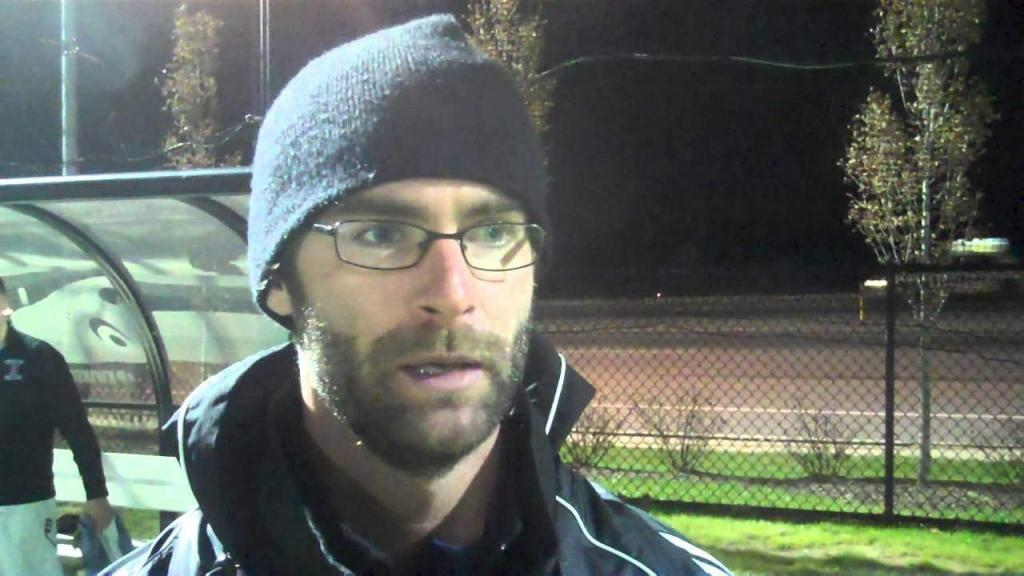 Devin Rensing during an interview